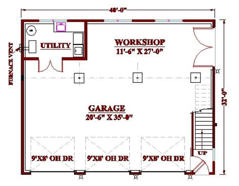 workshop garage plans woodworking simple design guide to get garage floor plans