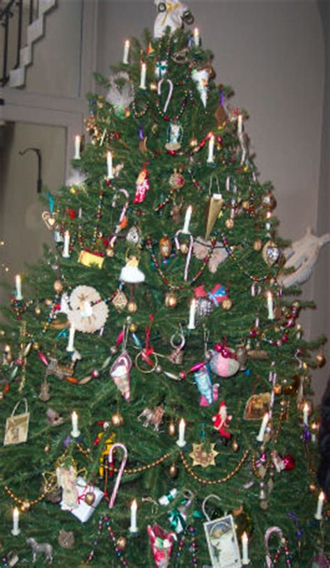 christmas decorations in the 1800s tree history traditions sewing for