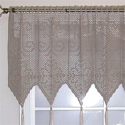 crochet curtain panels 94 best crocheted curtains images on pinterest crochet