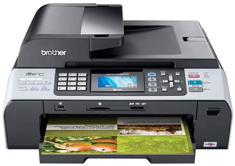 Printer Mfc 5890cn mfc 5890cn color inkjet all in one with networking prints up to 11 quot x 17 quot ledger size
