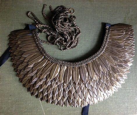 cadenas moradas instagram collar 233 tnico con plumas resultado proyectos pinterest