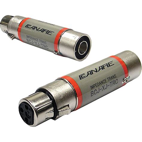 transformer impedance to ohms canare bcj xj trc 110 ohm to 75 ohm digital audio bcj xj trc b h
