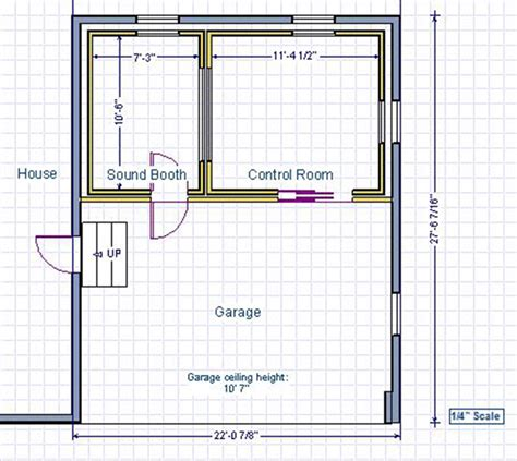 blueprint designer recording studio design in virginia usa gearslutz pro