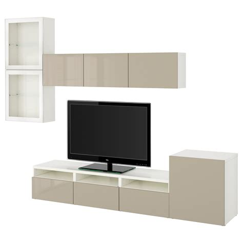 ikea besta combination best 197 tv storage combination glass doors white selsviken