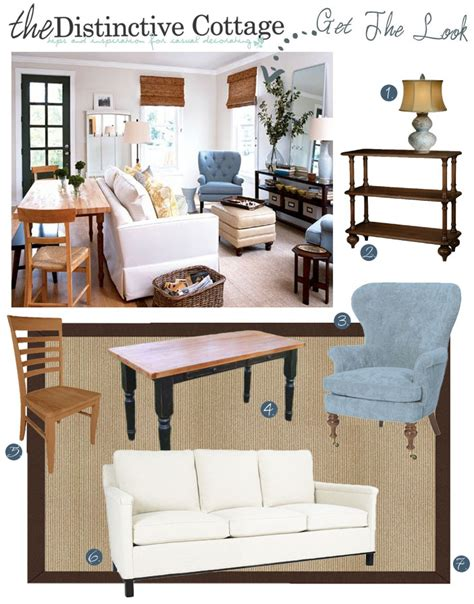 cottage look living room small cottage living room get the look