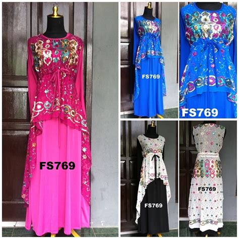 desain baju muslim india model baju sari india terbaru fika shop