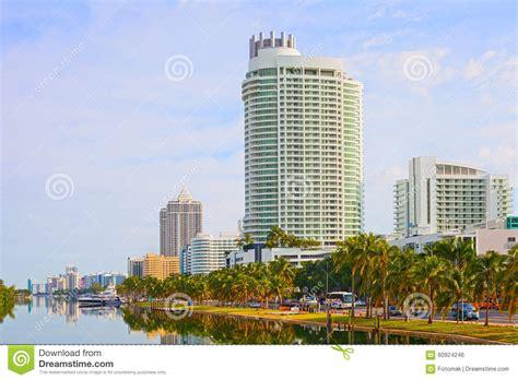 imagenes edificios miami edificios y palmeras de miami beach la florida foto de