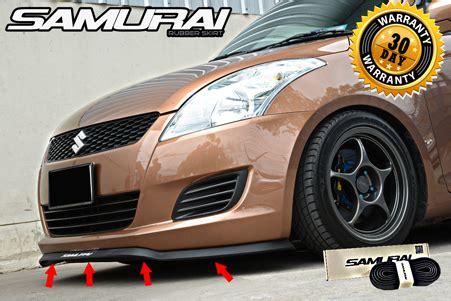 Bumper Universal Model Kelinci samurai universal fit front bumper spoiler chin lip wing trim for all models buy spoiler