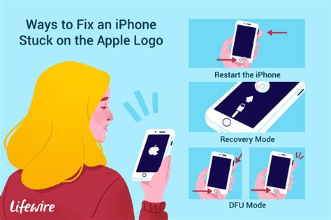 fix  iphone stuck   apple logo