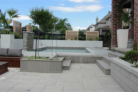 modern decks modern pool deck tiles montreal outdoor living