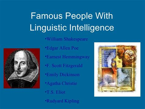 celebrity with interpersonal intelligence multiple intelligence theory