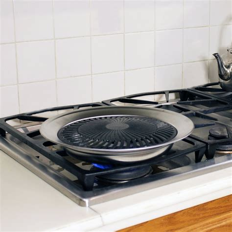 Indoor Gas Grill Cooktop grill it smokeless indoor stovetop grill the green