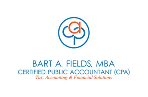 Various Fields In Mba by Bart A Fields Cpa Mba Tax Preparer Tax Professionals