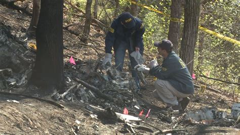 Audie Murphy Crash Site by Wbir Fire Blamed In Deaths Of 4 Of 5 Victims In