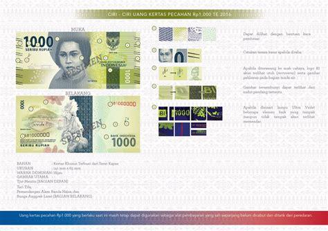Kertas Uang Inilah Gambar Uang Kertas Dan Logam Rupiah Baru Dari Mulai