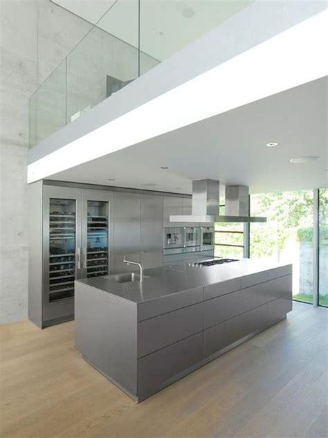 minimal kitchen a170014 pinterest minimal cupboard and kitchens minimal grey kitchen island wooden floor entresol