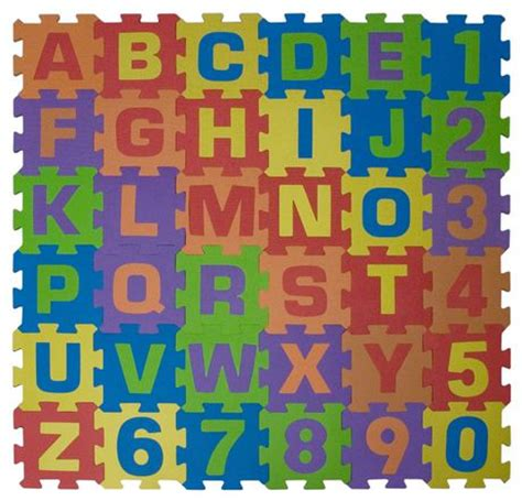 Alphabet And Numbers Mat by Play Day Alphabet And Numbers Playmat Walmart Ca