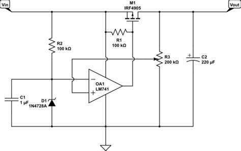 an output capacitorless low dropout regulator with direct voltage spike detection an output capacitorless low dropout regulator with direct voltage spike detection 28 images