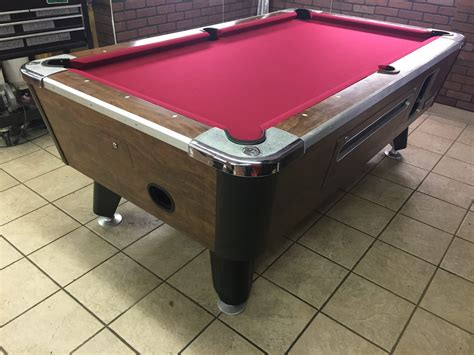 table valley table 040417 valley used coin operated pool table used