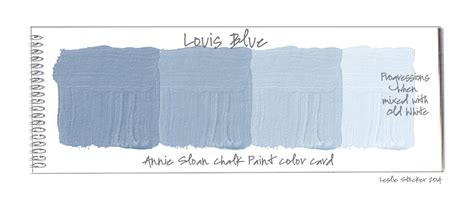 chalk paint in st louis the blues colorways with leslie stocker