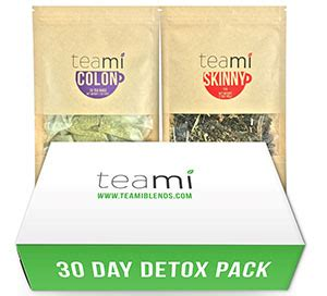 Holford 9 Day Detox Pack by Teami 30 Day Detox Pack Vitamin World