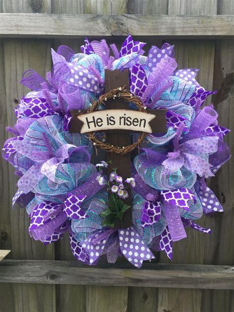 easy diy easter wreaths  front door party wowzy