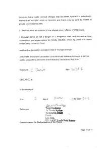 Statutory Declaration Letter Template Statutory Declaration The Jarvis Family