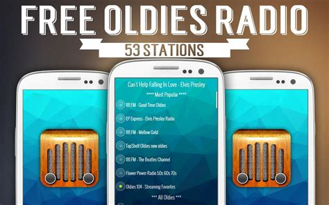 Free Radio Station by Free Oldies Radio Android Apps On Play