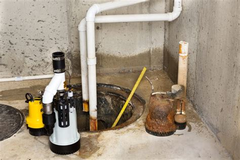 protect your basement with a sump pump