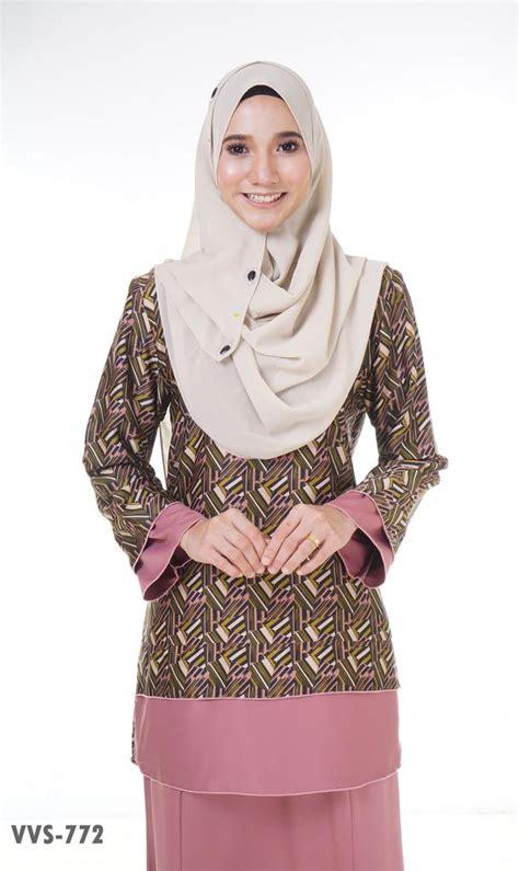 baju kurung moden yang loose busana muslimah part 10