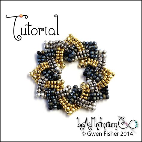 bead weaver gwenbeads tutorial celtic knots part 2 rings rosettes
