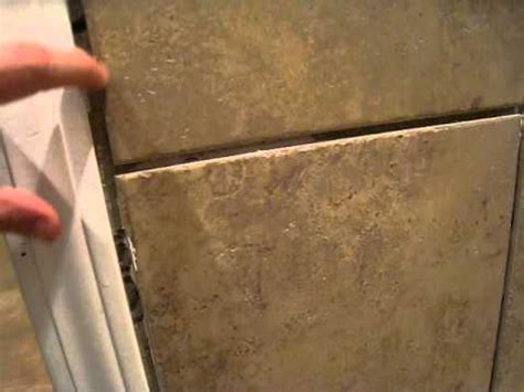 How To A To Use Bathroom Outside by Bathroom Ceramic Tiling Project Outside Corners