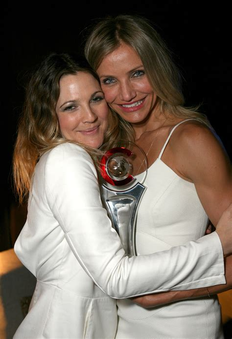 Cameron Diaz Drew Barrymoore Bff who are best friends irl the moviefone