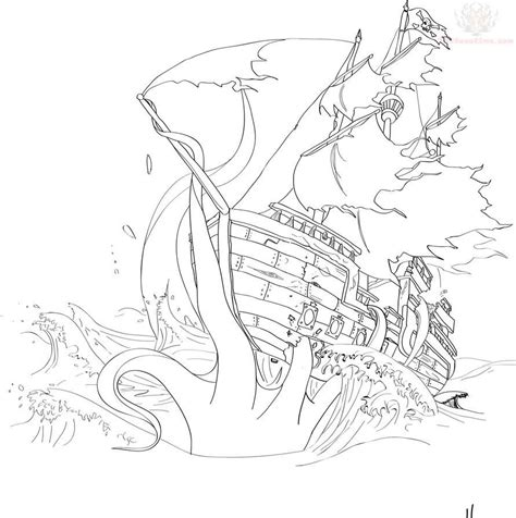sunken ship tattoo designs sunken pirate ship coloring pages