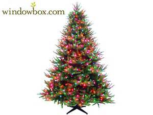 lighted artificial christmas tree captures the essence of