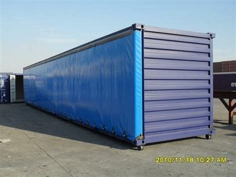 curtain sided container curtain side container in qingdao shandong china