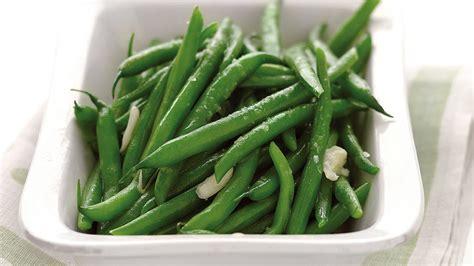 microwave steamed garlic green beans