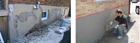 parging basement walls parging ottawa foundation repair ottawa basement waterproofing ottawa