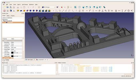 free 3d drawing freecad