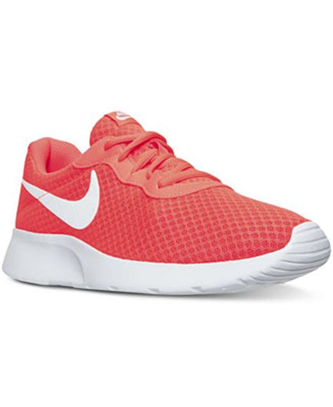 macys athletic shoes nike s tanjun casual sneakers from finish line