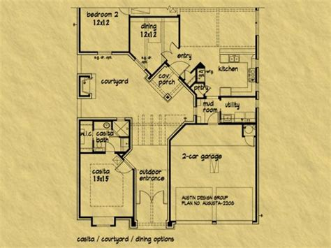 casita plans casitas arizona house plans house plans with casitas and