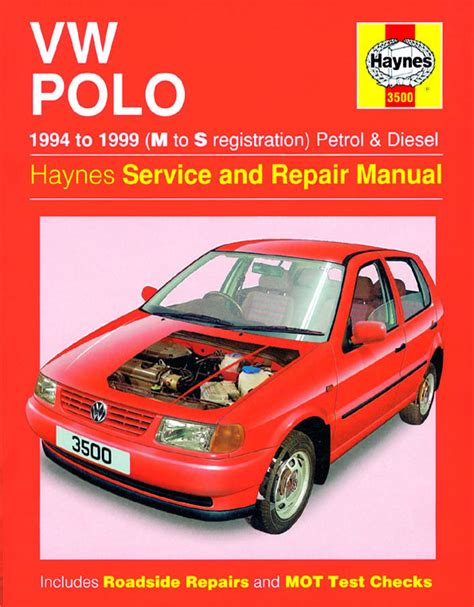 Haynes Manual Vw Polo Hatchback Petrol Amp Diesel 1994 1999