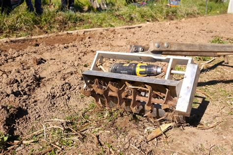 Homemade Planters Drill Powered Microfarming Slow Tools For Humanity Milkwood