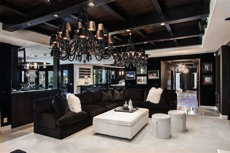 khloe house decor contemporary living room with