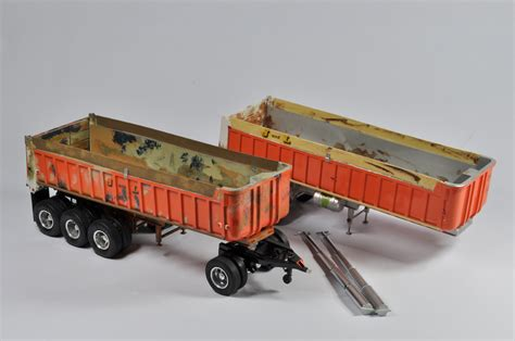 39 trailer ita interesting early 1 25 scale amt gravel trailer kit