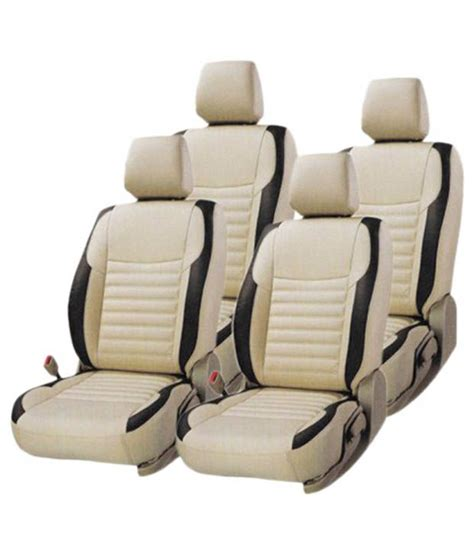 car seat covers for featherfeel car seat cover for renault kwid beige buy