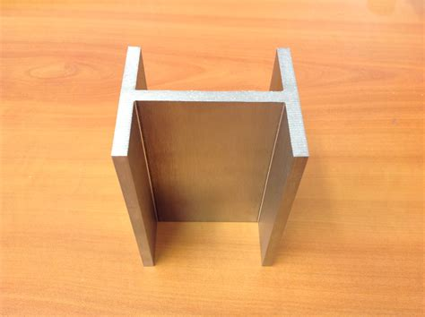 stainless steel h section laser welded h section techno glass designs