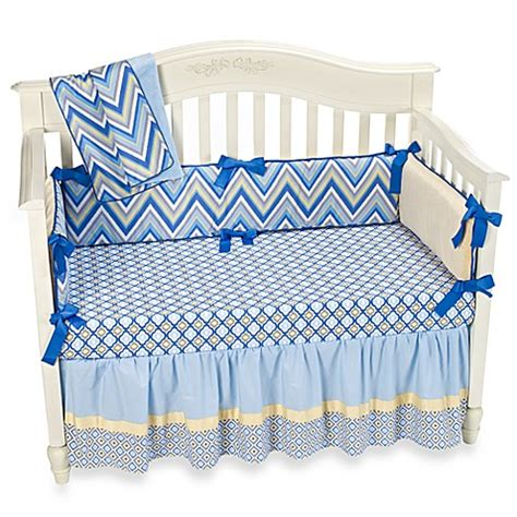 caden lane bedding caden lane 174 asher ikat crib bedding buybuy baby