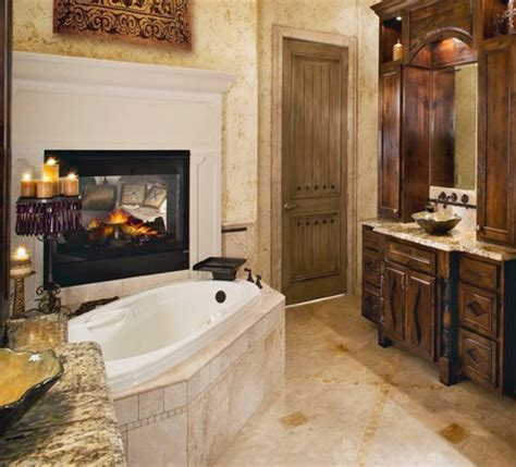 Fireplace In Bedroom And Bathroom Bathroom Fireplaces Biofuel Fireplaces For A Master Bathroom