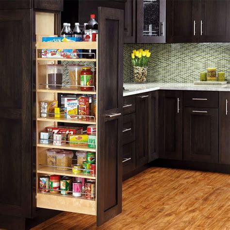 Roll Out Pantry Shelves by Rev A Shelf Wood Pull Out Pantry With Adjustable